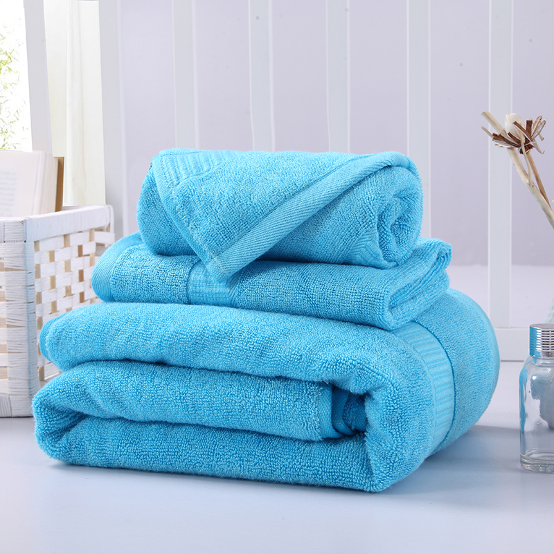 毛巾浴巾 西班牙彩虹系列毛浴巾套装