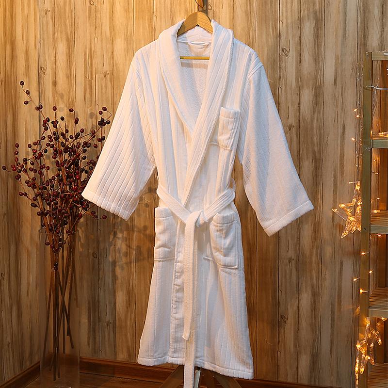 酒店浴袍 威斯汀酒店风格浴衣