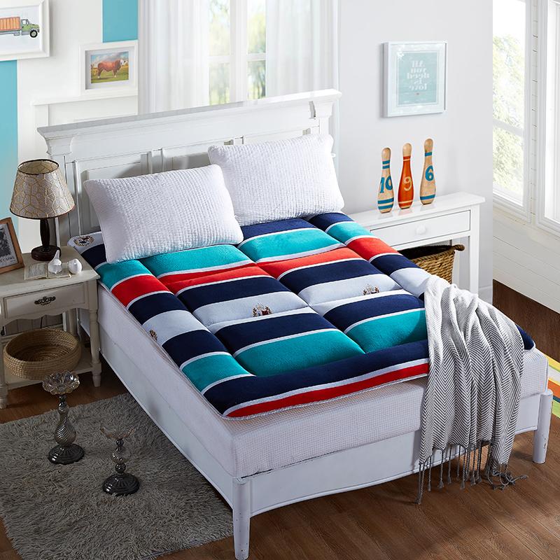 科含床垫           2017法莱绒印花床垫