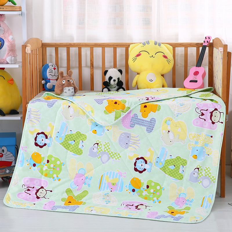 婴幼童夏被13372全棉包边款  字母乐园