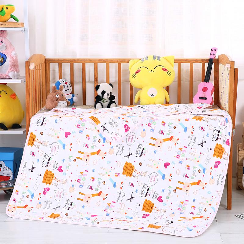 婴幼童夏被13372全棉包边款  快乐伙伴