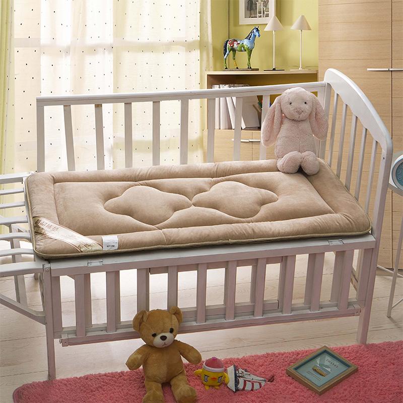 水晶绒儿童床褥(床垫)
