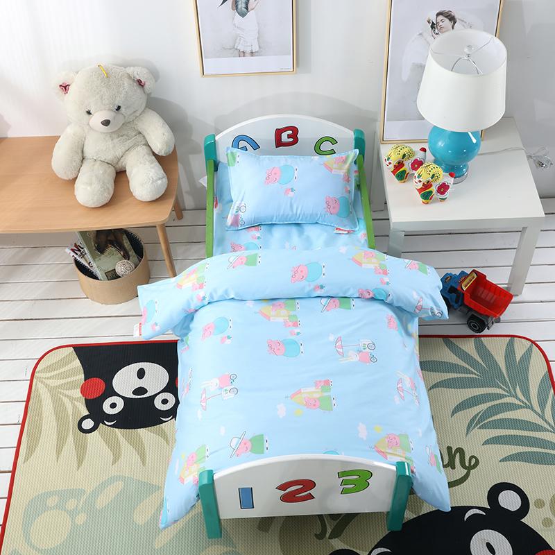 幼儿园小版套件  小猪佩奇-蓝