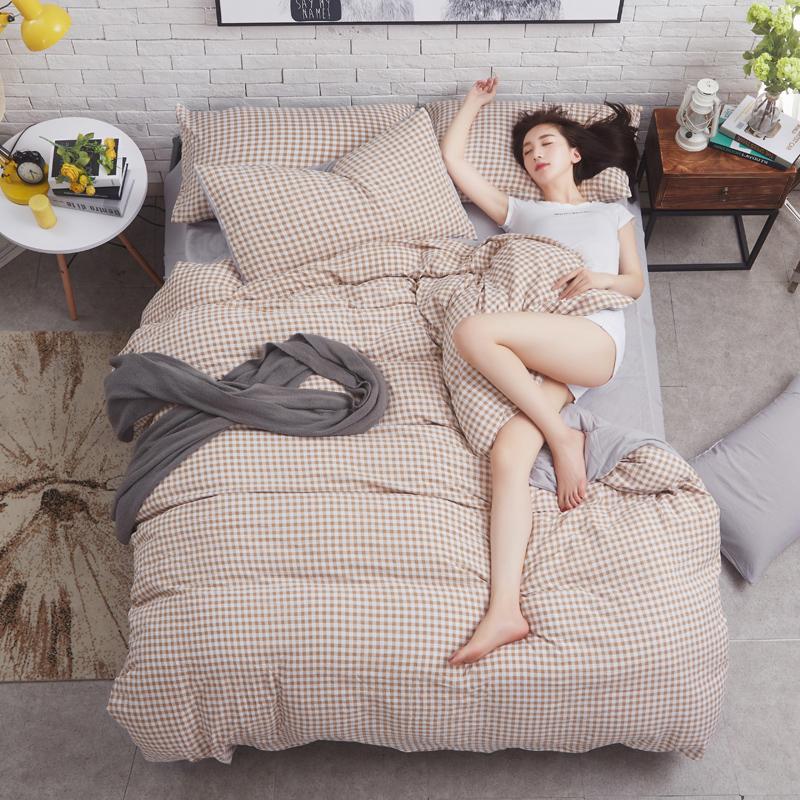 水洗棉四件套系列(模特图)