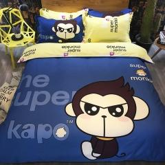 全棉Kapa猴四件套 200*230cm kapo-帅