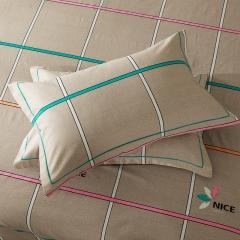 梧桐树- 全棉加厚磨毛单品 (枕套) 48cmX74cm/一对 28巴比伦