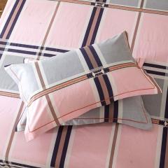 梧桐树- 全棉加厚磨毛单品 (枕套) 48cmX74cm/一对 30条纹韵律