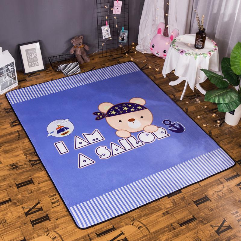 宝宝绒地垫