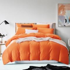 60支 极爽天丝 素色经典款 标准(200*230cm) 爱马仕-橙