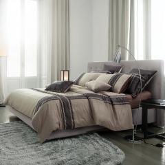 梦幻之城家纺欧式简约现代男士商务居家四件套六件套 1.5米床适用 托马斯