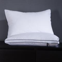 羽丝绒枕单只装 双层立体枕