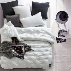 水洗棉冬被 200X230cm 白