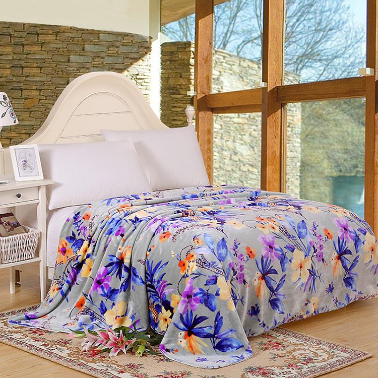 超柔双层西班牙云盖毯双层加厚毛巾被秋冬珊瑚绒盖毯