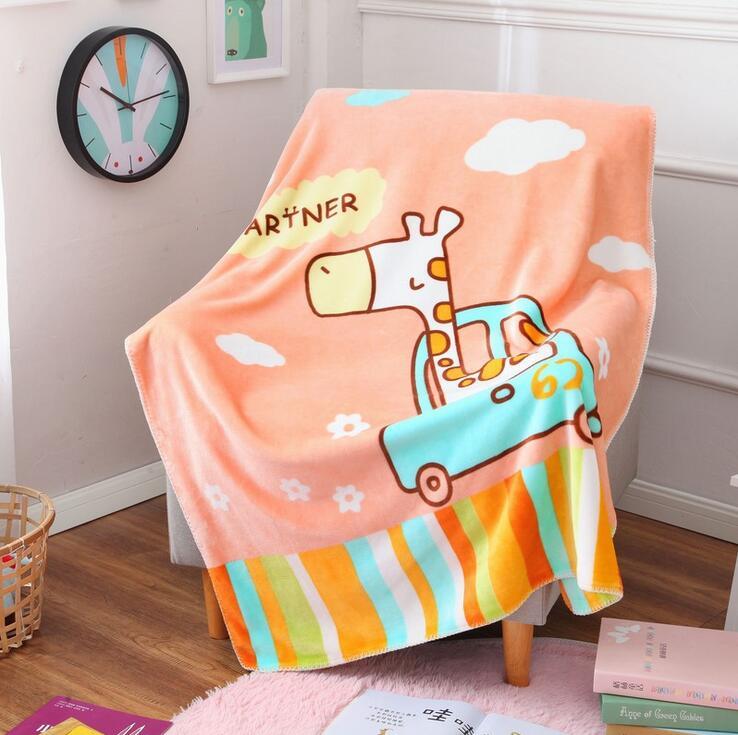 超柔儿童卡通盖毯双层加厚三角针定位版厂家直供网销批发一件代发