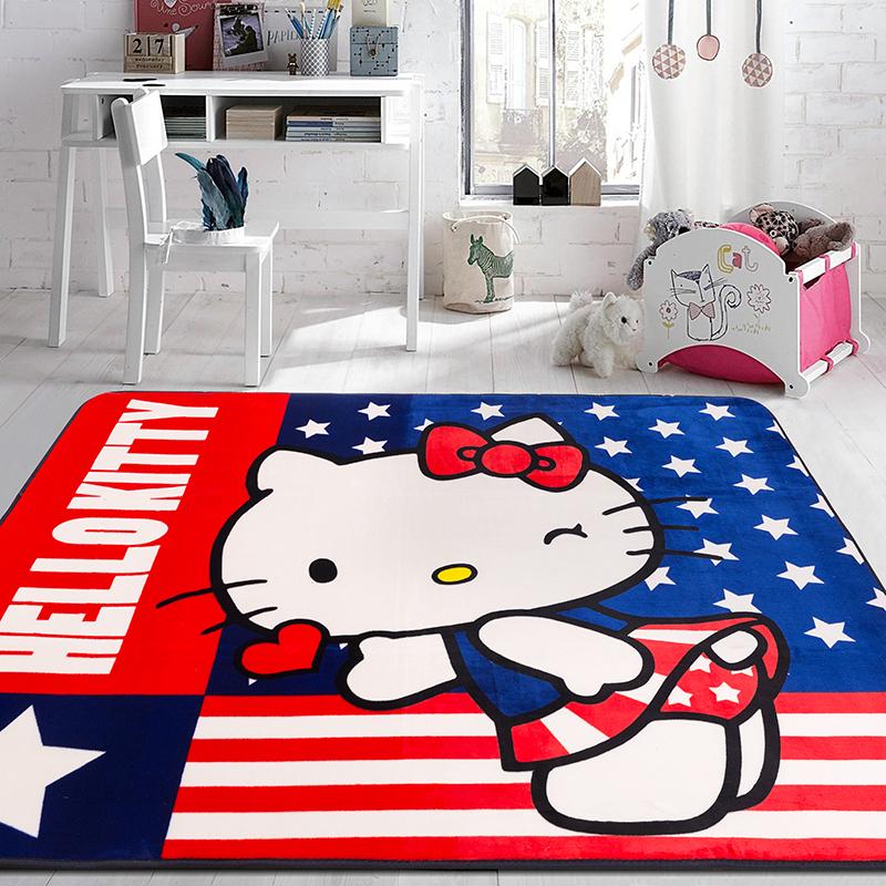 Hello Kitty正版授权大平网地垫