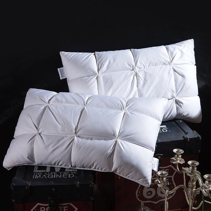 欧式面包款鹅绒枕